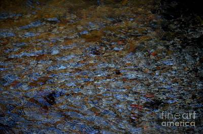 Photograph - Underwater Pebbles by Maria Urso