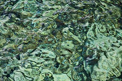 Photograph - Underwater Rocks - Adriatic Sea by Stuart Litoff