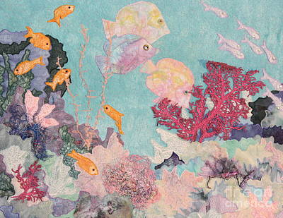 Underwater Splendor Art Print