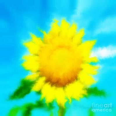 Photograph - Underwater Sunflower by Lorraine Heath