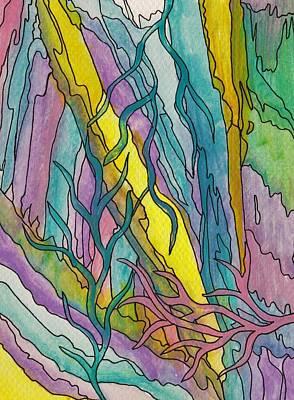Painting - Underwater Weeds by Barbara St Jean