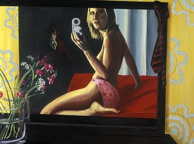 Underwear, 2000 Acrylic On Canvas Print by Alix Soubiran-Hall