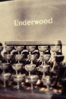 Photograph - Underwood by Paulette B Wright