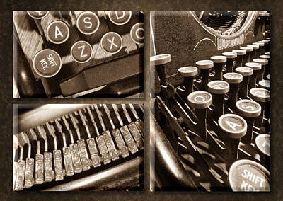 Photograph - Underwood Typewriter by John Magyar Photography