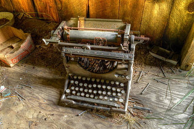 Underwood Typewriter No. 5 Art Print