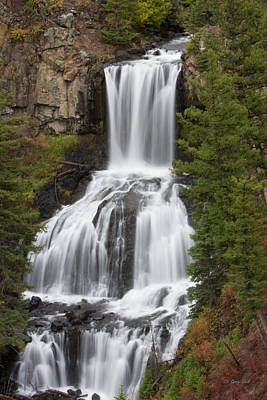 Photograph - Undine Falls by Gerry Sibell