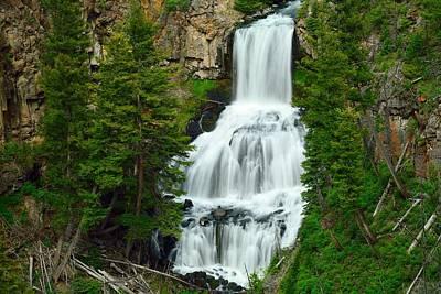 Photograph - Undine Falls by Walt Sterneman