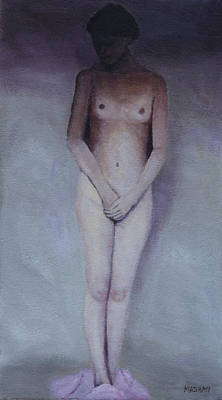 Painting - Undressed by Masami Iida
