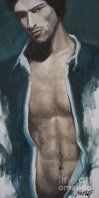 Painting - Undressing by Jindra Noewi