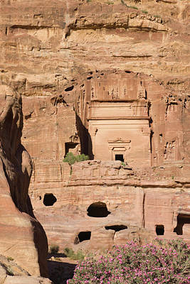Petra Photograph - Uneishu Tomb, Petra, Jordan (unesco by Keren Su