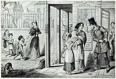 Cruikshank Photograph - Unemployed by British Library