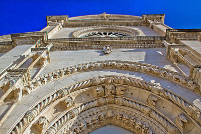 Photograph - Unesco Cathedral Of Saint James Front Facade by Brch Photography