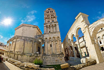 Photograph - Unesco World Heritage Site In Split by Brch Photography
