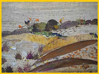 Friendly Mixed Media - Uneven Landscape  by Basant Soni