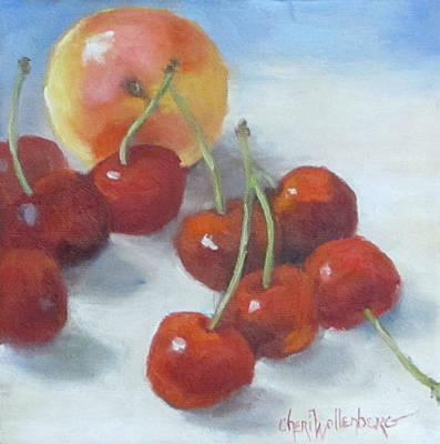Painting - Unexpected Company by Cheri Wollenberg