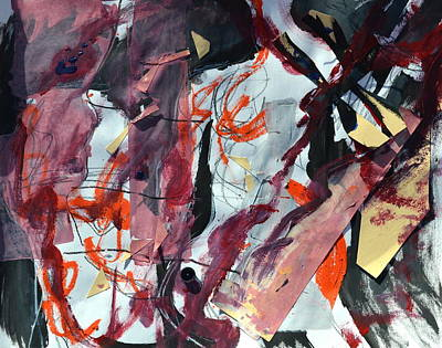 Unexpected Intensity Art Print by Beverley Harper Tinsley