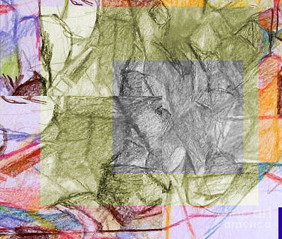 Inner Self Digital Art - You Saw No Picture 4 by David Baruch Wolk