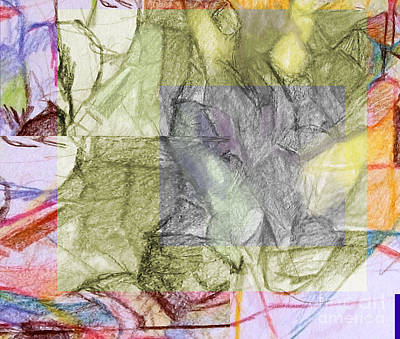 Inner Self Digital Art - You Saw No Picture 5 by David Baruch Wolk