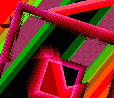 Geometric Shape Digital Art - Unfinished Artwork by Mario Perez
