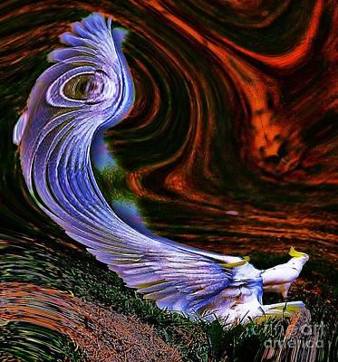 Cockatoo Digital Art - Unflappable by Blair Stuart