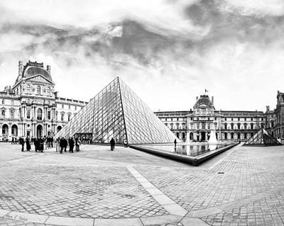 Photograph - Unforgettable Architecture Of The Louvre - Paris by Mark E Tisdale