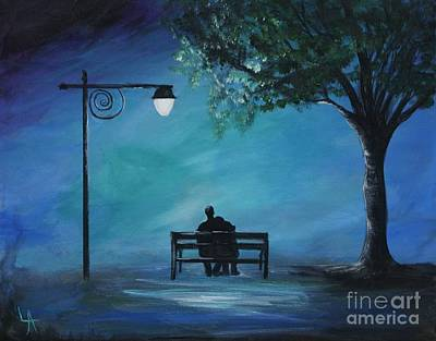 Painting - Unforgettable Evening by Leslie Allen