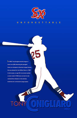Major League Baseball Digital Art - Unforgettable by Ron Regalado