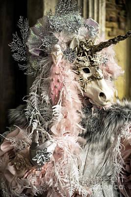 Carnevale Photograph - Unicorn At Carnival by John Rizzuto