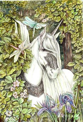 Painting - Unicorn by Morgan Fitzsimons