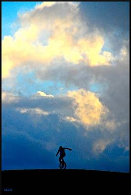Photograph - Unicycle by Matthew Heller