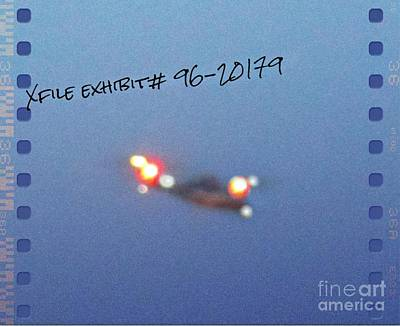 Space Photographs Of The Universe - Unidentified Flying Object by John Malone