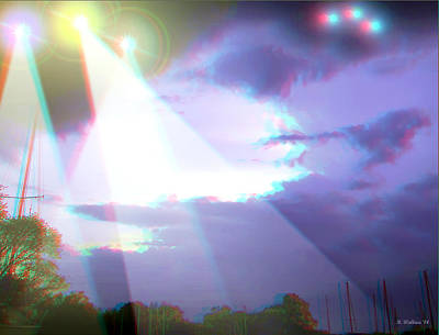 Conversion Digital Art - Unidentified -  Use Red-cyan 3d Glasses by Brian Wallace