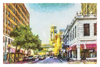 Painting - Union And 3rd by Barry Jones