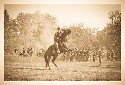 Photograph - Union Battle Field by Steve McKinzie