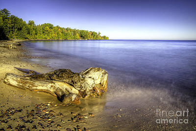 Porcupine Photograph - Union Beach At Porcupine Mountains State Park by Twenty Two North Photography
