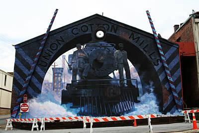 Union Cotton Mills Art Print by Blue Sky