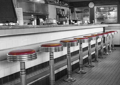 Photograph - Union Diner  by Betty  Pauwels