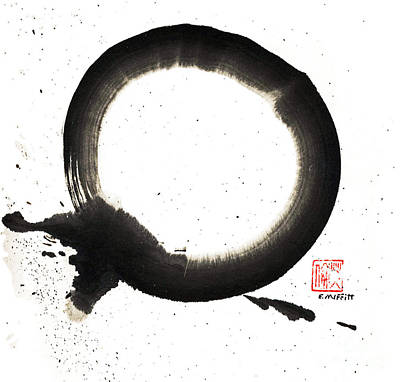 Centering Painting - Union Enso by Ellen Miffitt
