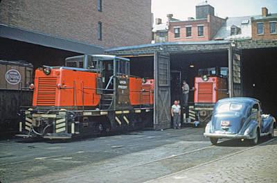 Photograph - Union Freight by John Dziobko