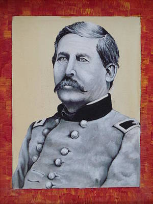 The General Lee Painting - Union General Buford by Martin Schmidt