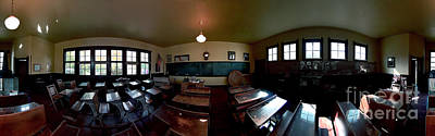Photograph - Union  Illinois One Room School House by Tom Jelen