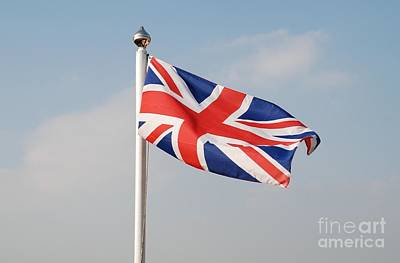 Photograph - Union Jack Flag by David Fowler