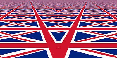 Photograph - Union Jack Perspective by Kurt Van Wagner