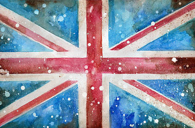 Def Leppard Painting - Union Jack by Sean Parnell