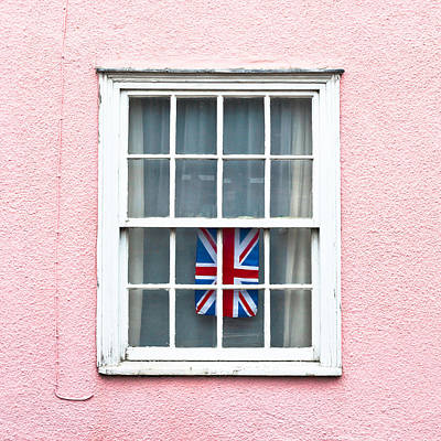 Window Wall Art - Photograph - Union Jack by Tom Gowanlock