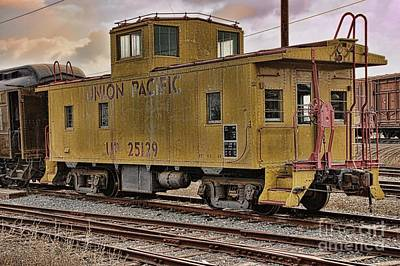 Photograph - Union Pacific 25129 by Peggy Hughes