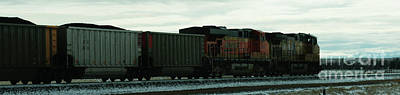 Photograph - Union Pacific 5995 by Linda Shafer