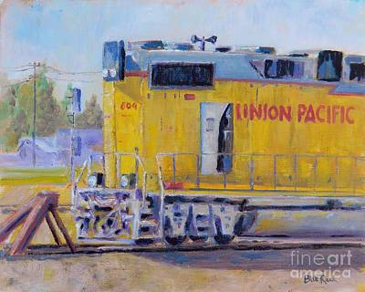 Union Pacific #604 Art Print