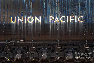Photograph - Union Pacific - Big Boy Tender by Paul W Faust -  Impressions of Light