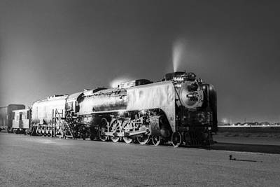 Photograph - Union Pacific C 8444 by Henri Bersoux